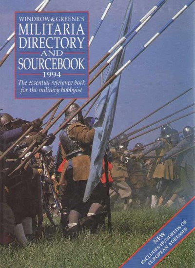 >WINDROW e GREENES MILITARIA DIRECTORY AND SOURCEBOOK 1994<