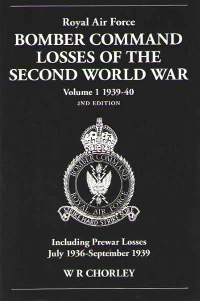 >RAF BOMBER COMMAND LOSSES OF SECOND WORLD WAR <