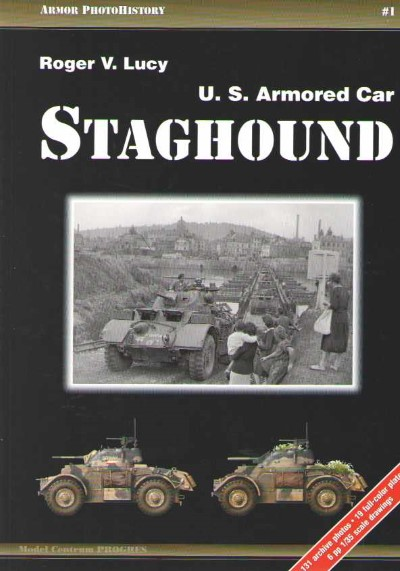 >U.S. ARMORED CAR STAGHOUND<