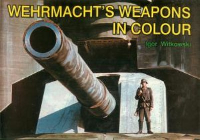 >WEHRMACHT'S WEAPONS IN COLOUR<